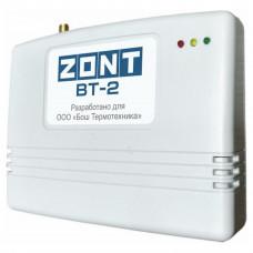 ZONT BT-2 GSM термостат для газовых котлов BOSCH, BUDERUS
