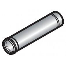 Вертикальный дымоход диам. 200/300 мм, алюминий/оцинкованная сталь