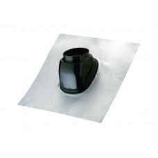 Черепица с черной втулкой для выхода на крышу от 25 до 45°