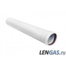 Труба (удлинитель) L=0,5m, Ø 80mm AL