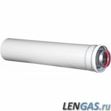 Коаксиальная труба L=1000mm, Ø 80/125  CE.00.62 H