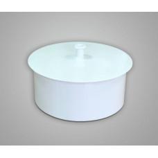 Заглушка стальная для дымохода диаметр 110 мм