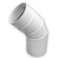 Отвод, угол 45 градусов, диаметр 130 мм