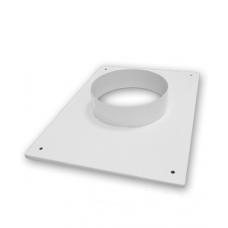 Вставка с фланцем прямоугольные 170х240 мм, диаметр 110 мм
