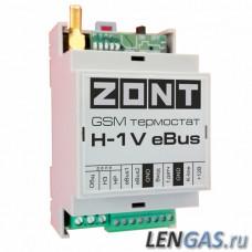 ZONT H-1V eBus термостат GSM для котлов Vaillant и Protherm