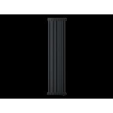 Радиатор труб. Zehnder Charleston 2180, 10 сек.1/2 бок.подк. RAL9017matt (9217) (кроншт.в компл)