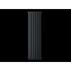 Радиатор труб. Zehnder Charleston 2180, 12 сек.1/2 бок.подк. RAL9017 matt (9217) (кроншт.в компл)