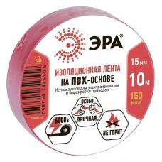 ПВХ-изолента ЭРА 15мм*10м красная (500/16000)