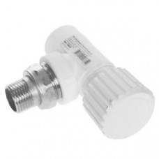 Вентиль бел PP-R для радиатора D 20х1/2