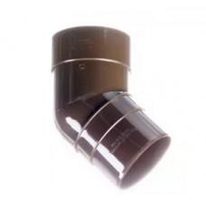 Колено 45° диам. 60/100 мм, PPS (2 штуки)