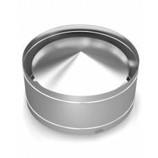 Дефлектор Н-образный TMF ф115, 0,5мм нерж