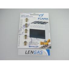 Набор сопел для Газовой плиты Флама (Flama) на природный газ