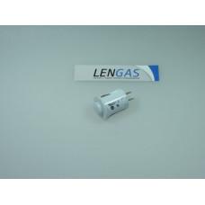 Кнопка подсветки ПКн501-2 для плиты Gefest белая
